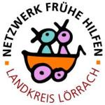 Logo des Netzwerks Frühe Hilfen