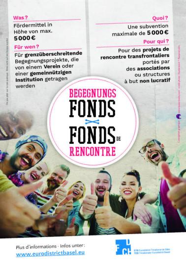Flyer Begegnungsfonds