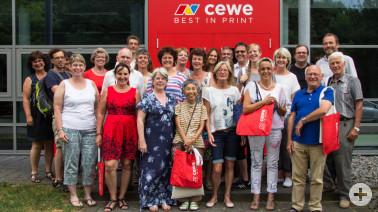 Naturpark-Gästeführer bilden sich bei CEWE fort