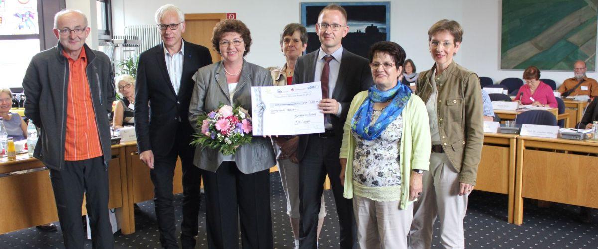 Gesundheitskonferenz 2016 Preisverleihung Gemeinde Aitern