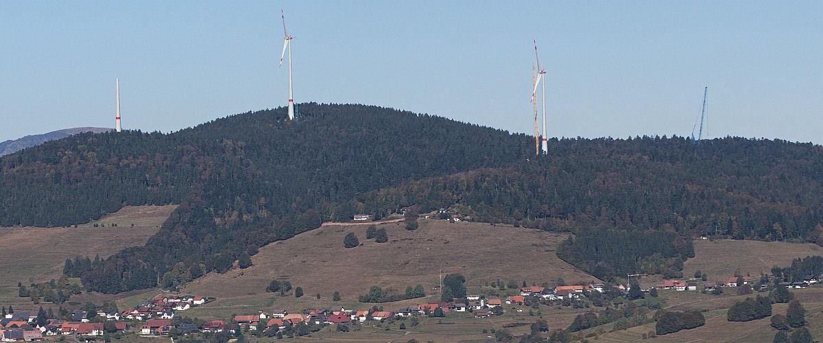 Windenergieanlagen auf dem Rohrenkopf