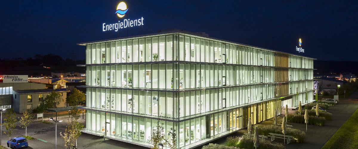 Bürohaus EnergieDienst in Rheinfelden