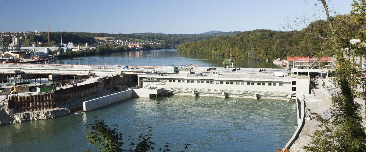 Wasserkraftwerk in Rheinfelden