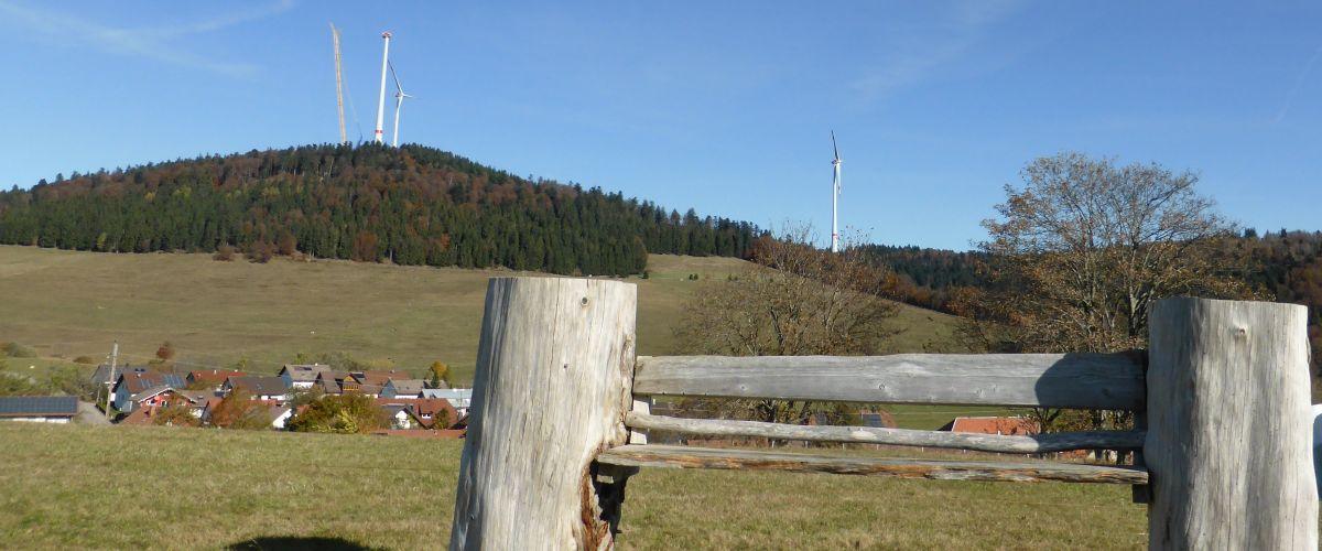Windräder auf dem Rohrenkopf, Gersbach