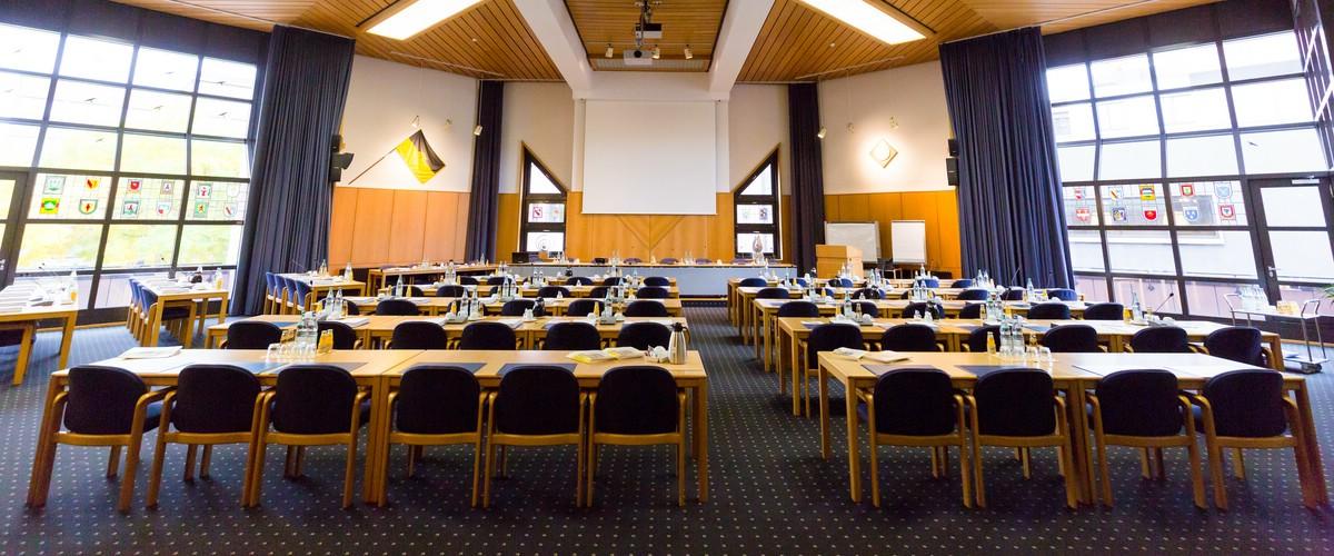 Sitzungssaal im Landratsamt Lörrach