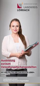 Cover des Flyers Verwaltungsfachangestellte
