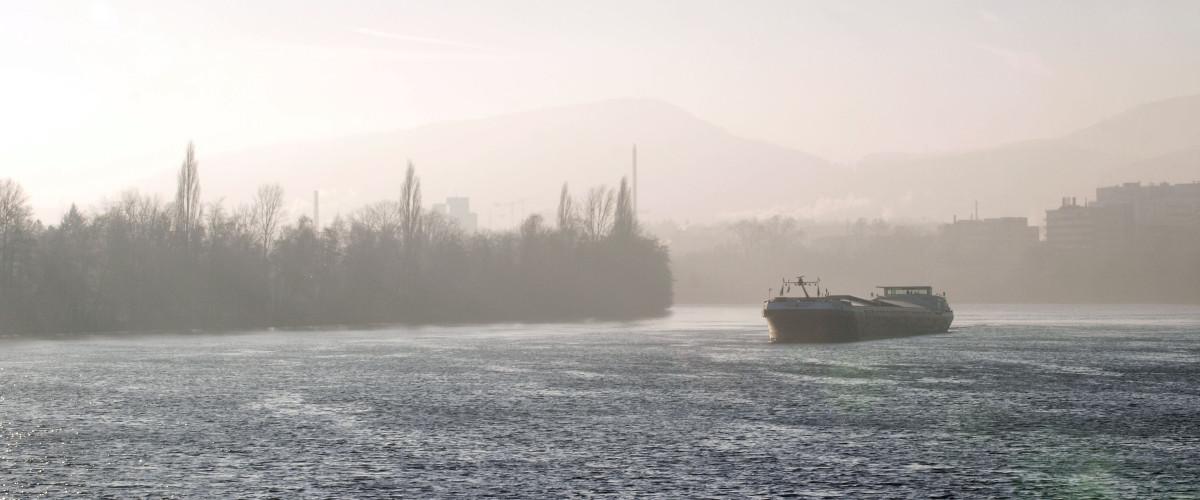 Rhein im Winter