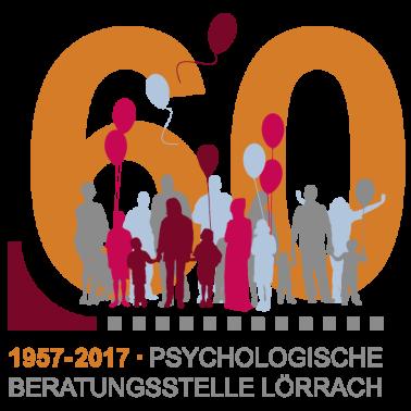Logo zum 60-jährigen Jubiläum Psychologischen Beratungsstelle