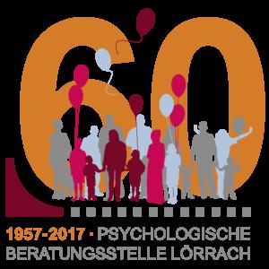 Logo zum Jubiläum: 60 Jahre Psychologische Beratungsstelle Lörrach