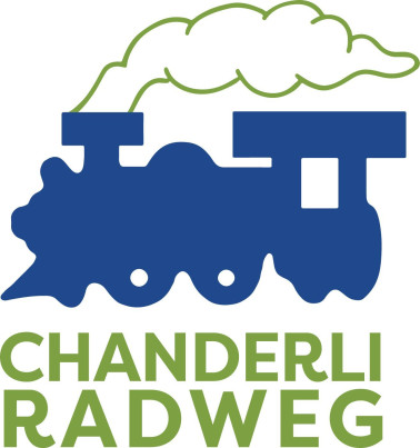 Wegweiser-Logo des Chanderli Radweges