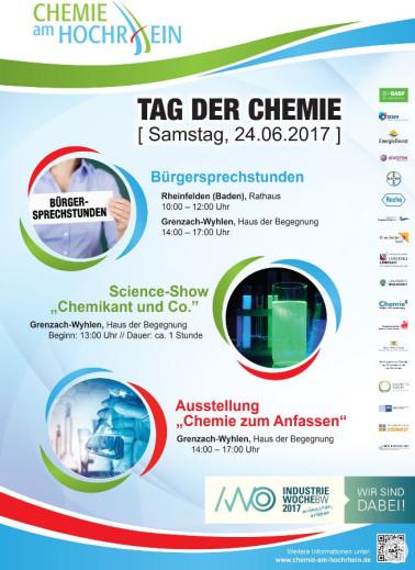 """Plakat zum """"Tag der Chemie"""" am 24.06.2017"""