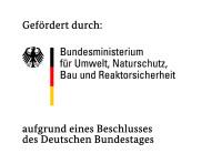 Logo - Gefördert durch Bundesumweltministerium