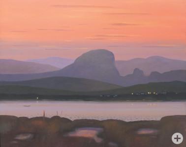 Berg im Abendlicht © Jürgen Szajny