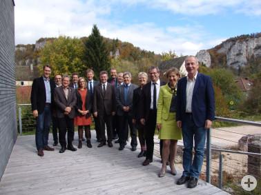 AG Naturparke mit den Vorsitzenden, Geschäftsführern und Vertretern des Ministeriums für Ländlichen Raum und Verbraucherschutz