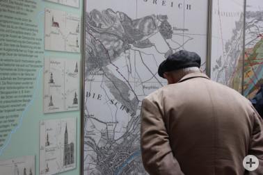 Ausstellung Rheingrenzvermessung