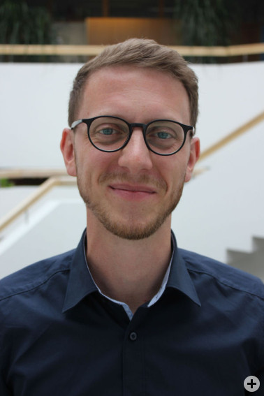 Jonathan Flohr ist der neue Persönliche Referent von Landrätin Marion Dammann