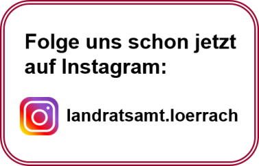 Logo instagram Landkreis Lörrach