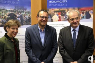 Trinationaler Eurodistrict Basel, Pressekonferenz