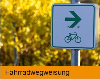 Bildkachel Fahrradwegweisung Bürger-GeoPortal