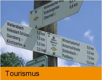 Bildkachel Tourismus