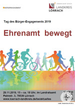 Tag des Bürger-Engagements 2019 - Plakat