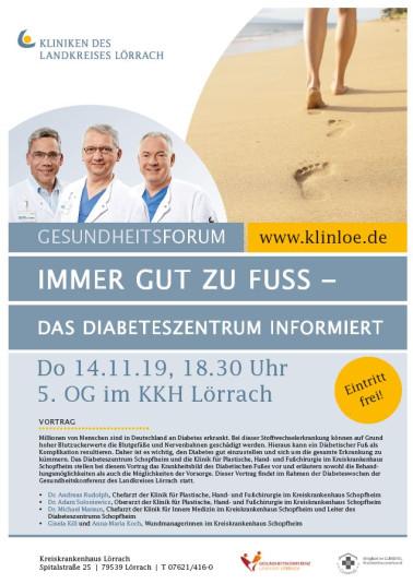 Plakat Kreiskrankenhaus