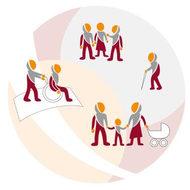 Symbolbild für Kontakt- und Informationsstelle für Selbsthilfe (KISS)