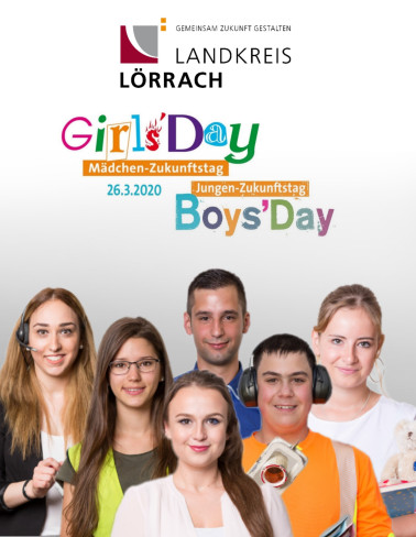 Das Landratsamt Lörrach lädt Jungen und Mädchen zum Ausbildungs-Schnuppertag ein