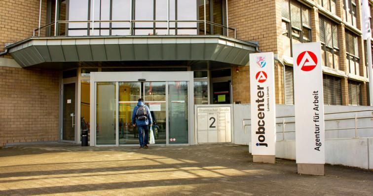 Haupteingang Jobcenter Lörrach
