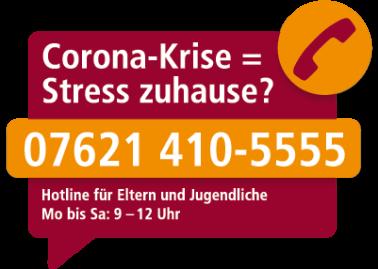 Corona-Hotline für Familien