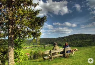 Die Naturparke im Land bieten vielfältige Möglichkeiten des Naturerlebens und der Entspannung. © Christoph Wasmer.