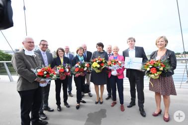 Wiederöffnung Dreiländerbrücke am 15. Juni 2020