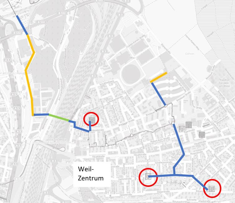 Schulen Weil am Rhein Zentrum