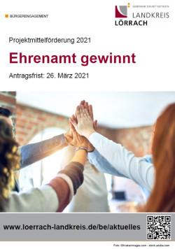 Projektmittelförderung 2021 - Plakat