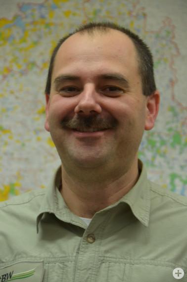 Marco Sellenmerten, Leiter des Forstbezirks Todtnau, wechselt an das Regierungspräsidium Freiburg. Foto: Landratsamt Lörrach