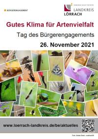 Plakat: Tag des Bürgerengagements 2021