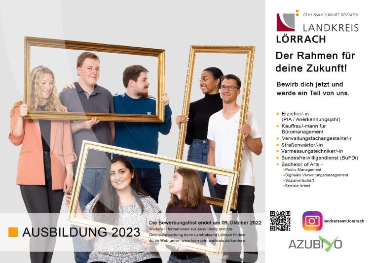 Ausbildung 2022 beim Landratsamt Lörrach
