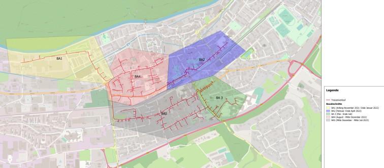 Übersichtsplan Schulen Schopfheim Innenstadt