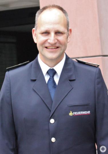 Uwe Häubner ist neuer Kreisbrandmeister